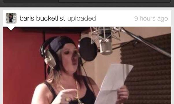 Make a music video - Bucket List Ideas