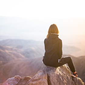 Watch The Sunset From The Top Of A Mountain - Bucket List Ideas