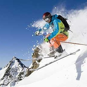 Try down hill skiing - Bucket List Ideas