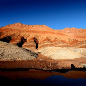 See the colorful rock formations in Zhangye Danxia Geological Park - Bucket List Ideas