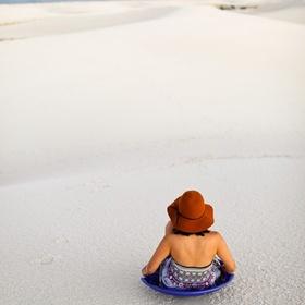 Sand sledding - Bucket List Ideas