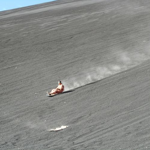 Go Volcano Boarding - Bucket List Ideas