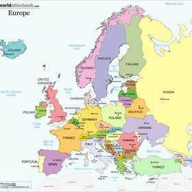 Reg. #2 Europe - Part of Visit every Major Continents Goal - Bucket List Ideas