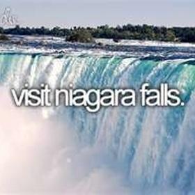 See the Niagara Falls - Bucket List Ideas