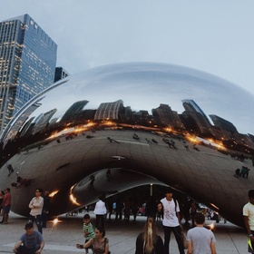Visit the Bean in Chicago - Bucket List Ideas