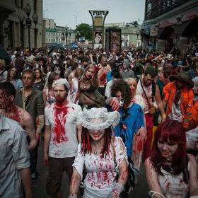 Participate - In A Zombie Walk - Bucket List Ideas