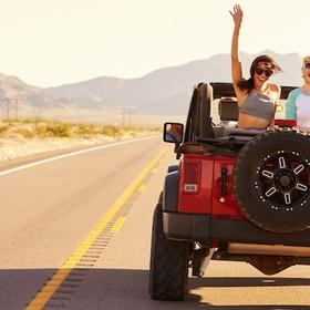 Ride in a top down, doorless jeep - Bucket List Ideas