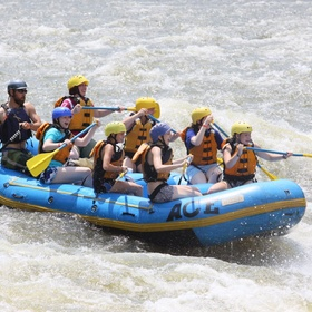 Whitewater rafting - Bucket List Ideas