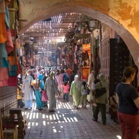 Walk through a Moroccan bazaar - Bucket List Ideas