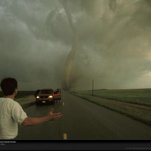 Chase A Tornado - Bucket List Ideas