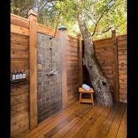 Take an Outdoor Shower - Bucket List Ideas