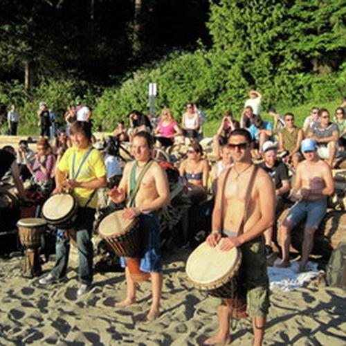 Third Beach Drum Circle - Bucket List Ideas