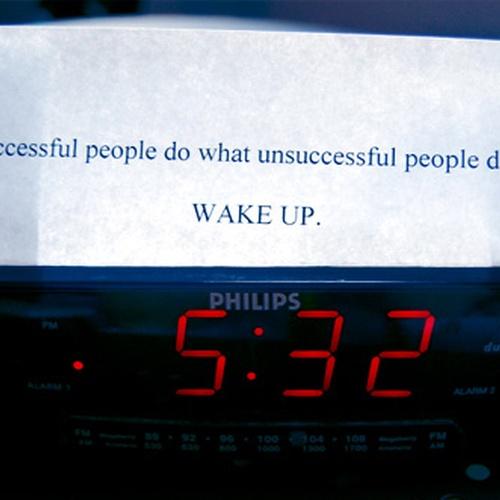 Become an early riser - Bucket List Ideas
