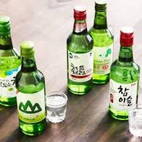 Drink soju - Bucket List Ideas