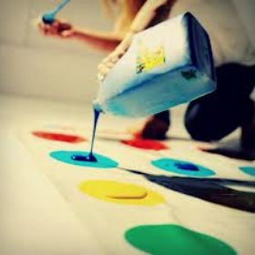Messy Twister - Bucket List Ideas