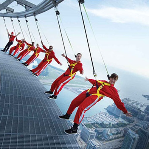 Hang from Toronto's CN Tower - Bucket List Ideas