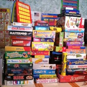 Buy Five Classic Board Or Card Games - Bucket List Ideas