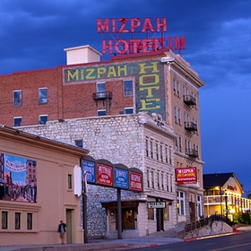 Spend a night at the Historic Mizpah Hotel in Tonopah, Neveda - Bucket List Ideas