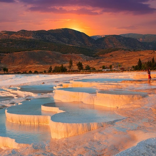 Experience the Pamukkale Hot Springs in Turkey - Bucket List Ideas
