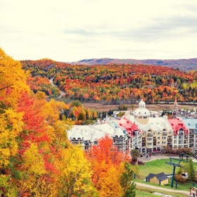 Stay the weekend at Mont-Tremblant - Bucket List Ideas