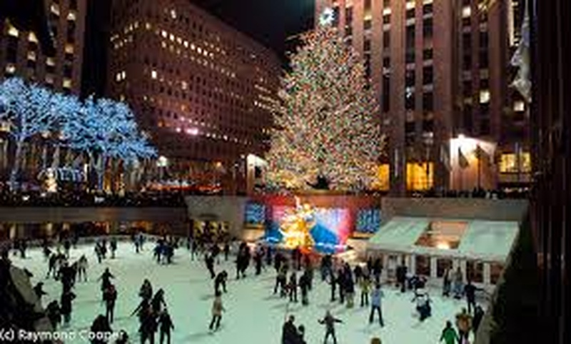 New York During Christmas Time.Bucketlist Visit New York City At Christmas Time