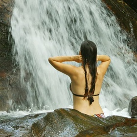 Bathe in Waterfalls - Bucket List Ideas