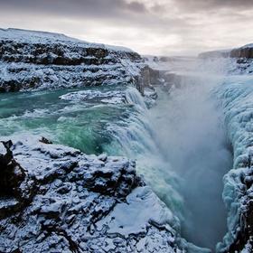 Go see Gullfoss Falls in Iceland - Bucket List Ideas
