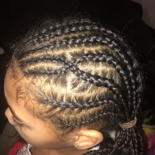Be able to cornrow cool designs in my daughters hair - Bucket List Ideas
