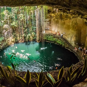 Swim in Ik Kil Cenote, Mexico - Bucket List Ideas