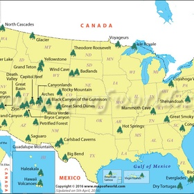 Visit 3 national parks in the u.s - Bucket List Ideas