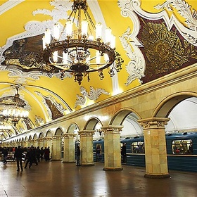 Take the metro in Moscow - Bucket List Ideas