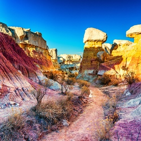 Walk through the Paint Mines of Colorado - Bucket List Ideas