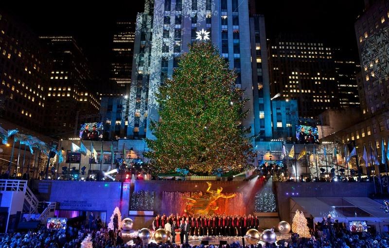New York Christmas Time.Bucketlist Visit New York City At Christmas Time