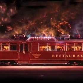 Eat at THE COLONIAL TRAMCAR RESTAURANT in - Bucket List Ideas