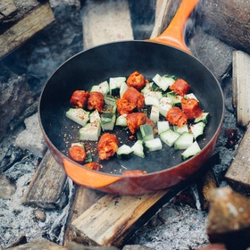 Take ingredients out into the wilderness and cook them over a fire - Bucket List Ideas