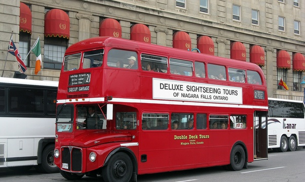 Ride a Double Decker Bus - Bucket List Ideas