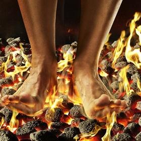 Walk on hot coals - Bucket List Ideas
