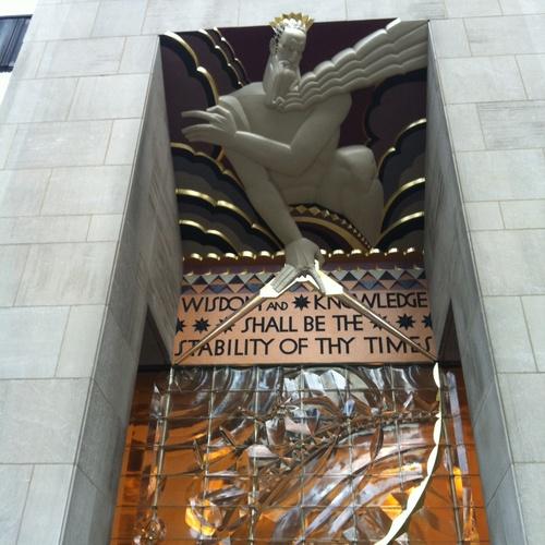 Visit the Rockefeller Center - Bucket List Ideas