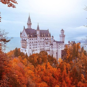 Visit the Neuschwanstein Castle in Germany - Bucket List Ideas