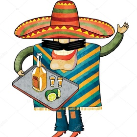 Have a tequila in my poncho, wearing a sombrero in Mexico - Bucket List Ideas