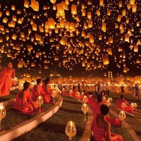 Attend a paper lantern festival - Bucket List Ideas