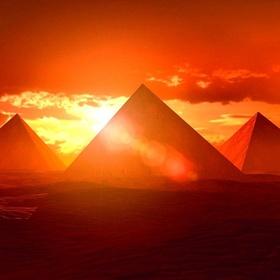 See a sunrise or sunset near a pyramid - Bucket List Ideas
