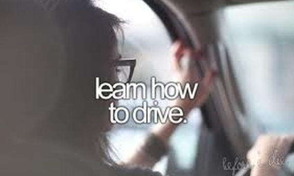 Learn to drive - Bucket List Ideas