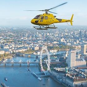 London Helicopter Sightseeing - Bucket List Ideas