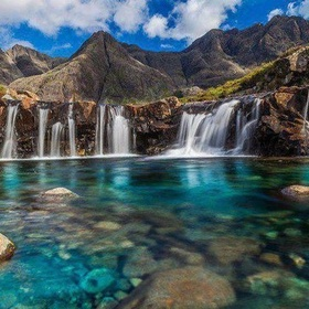 Fairy Pools at the Top, Isle of Skye, Scotland - Bucket List Ideas