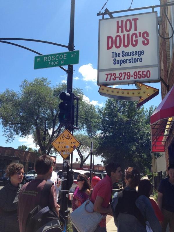 Eat a specialty hotdog at Hot Doug's, Chicago, IL - Bucket List Ideas